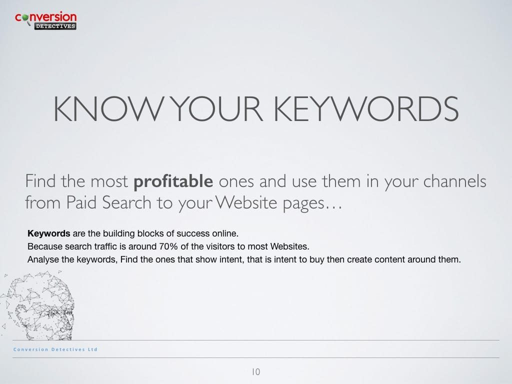 Know Your Keywords