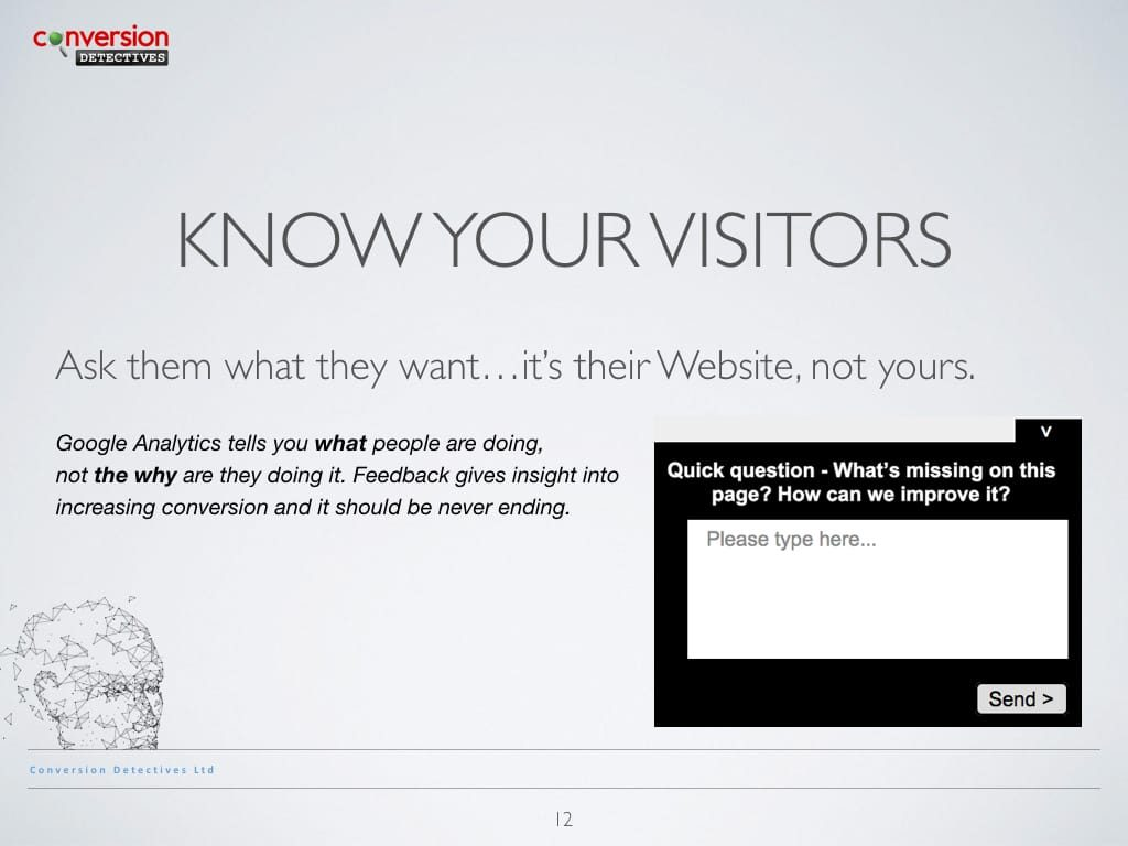 Know Your Visitors