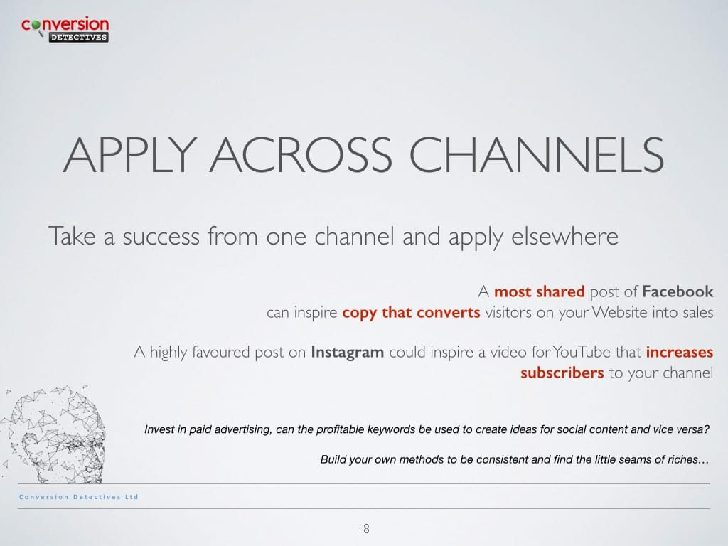 Apply Across Channels