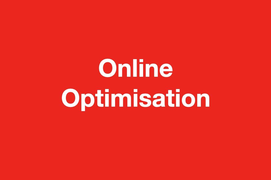 Online Optimisation