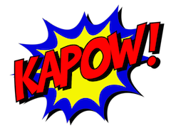 Kapow! In Page Graphic